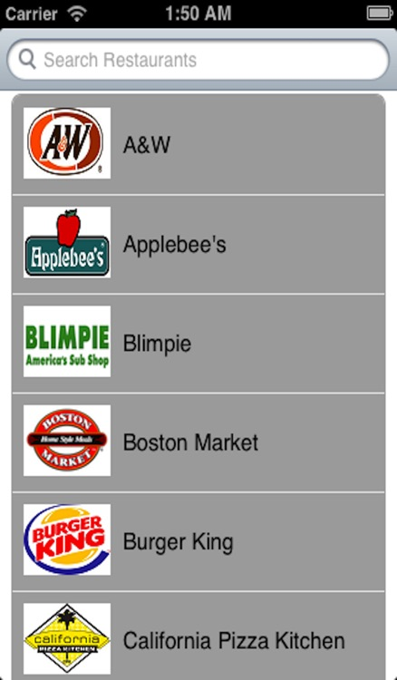 Fast Food Allergies screenshot-3
