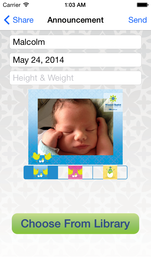 MoBap Baby Delivery Planner screenshot three