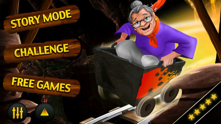 Granny Rush - The Temple Mine Escape