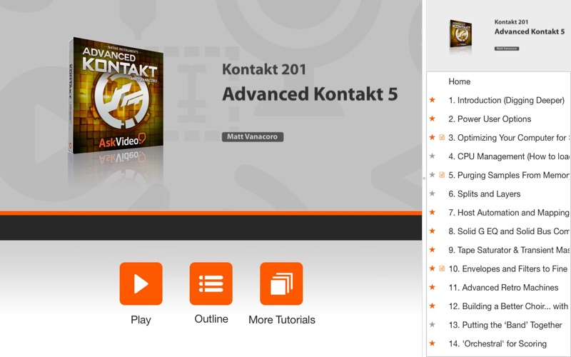 Course for Advanced Kontakt 5