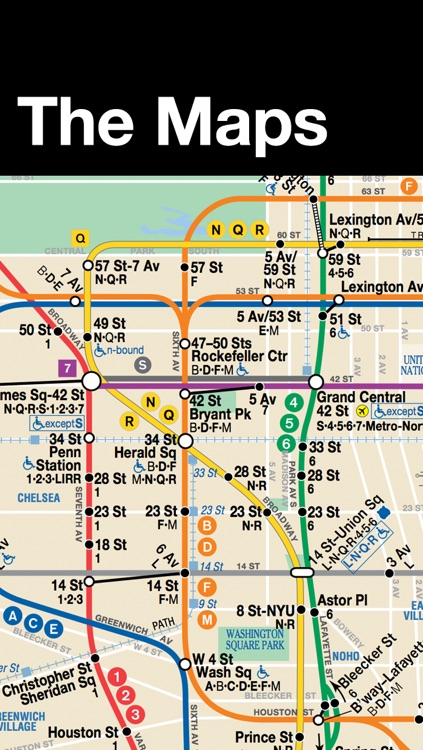 New York Subway Map by Dayou