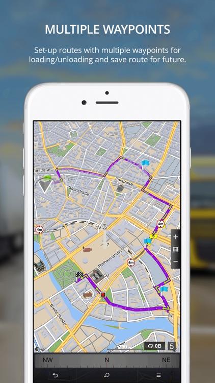 Sygic Truck GPS Navigation screenshot-3