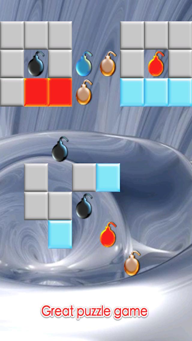 Bombs and Blocks Maze: Cartoon Explosions War Free screenshot three