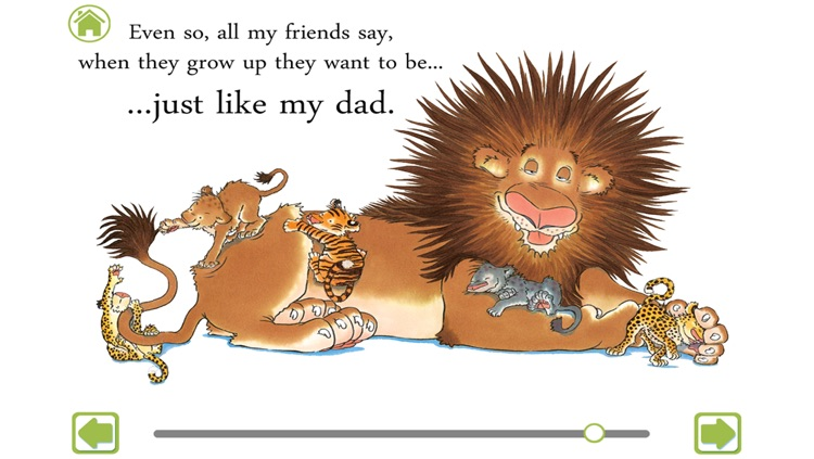 Just Like My Dad – Interactive storybook screenshot-4
