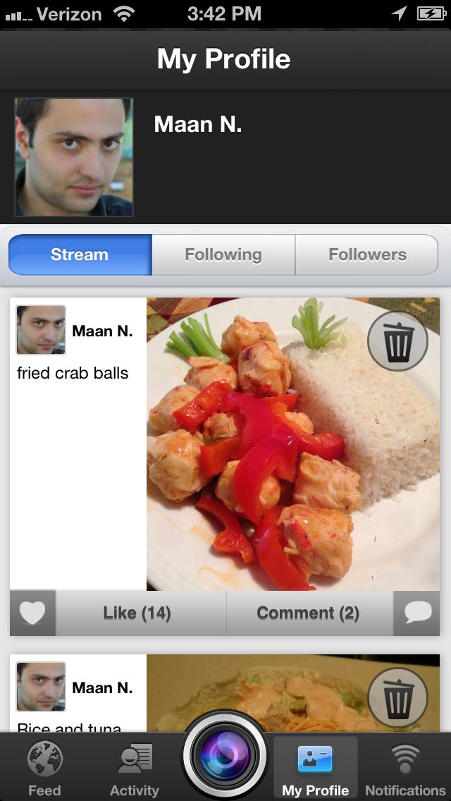 Yummy Food : Food Photos & Recipes Sharing NetworkScreenshot of 3
