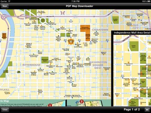 【旅行必备】费城(美国)地图 - 下载铁路图,城市地图和旅游指南