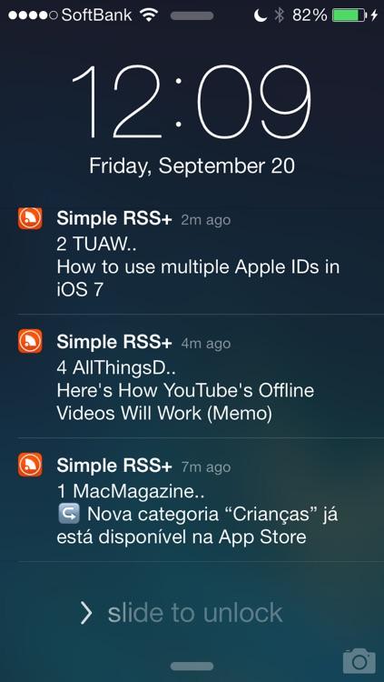 Simple RSS Push+ screenshot-4