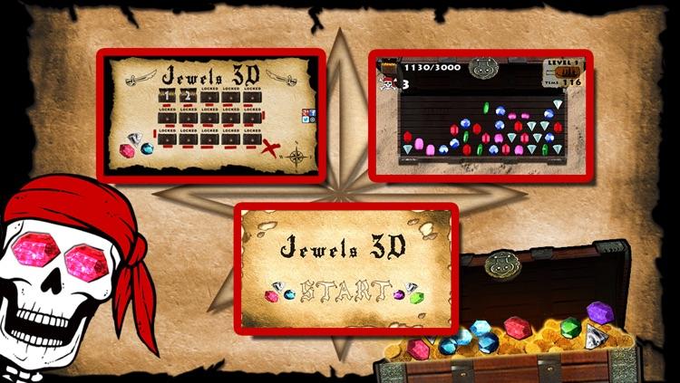 Jewels 3D - Dash the Diamond