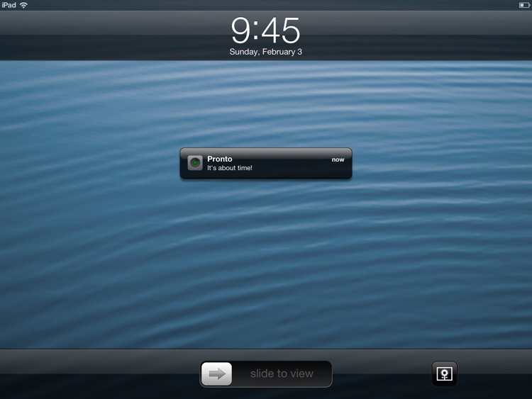 Pronto for iPad — Timer App screenshot-4