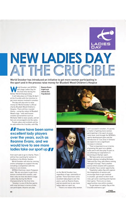 World Snooker Championship Official Programme screenshot-3