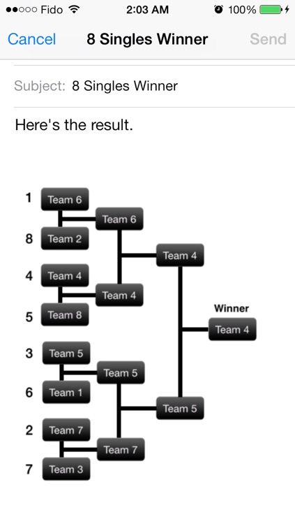 Bracket Maker - Tournaments Manager & Fixture Maker Pro By CS SPORTS screenshot-4