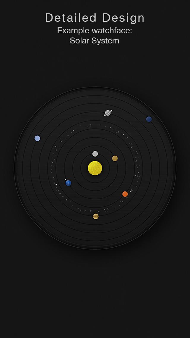 Circles - Smartwatch Face and Alarm Clock Screenshots