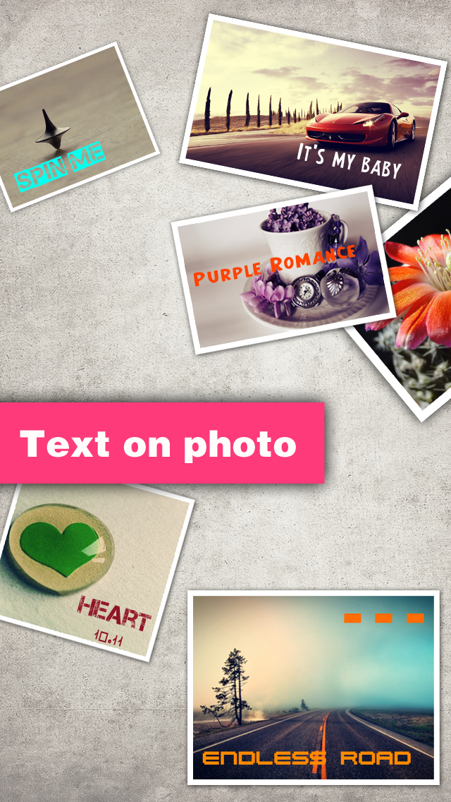 Texts on Photo HD Pro – text over picture & caption designs editor for Windows