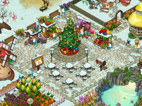 Игра Smurfs' Village and the Magical Meadow