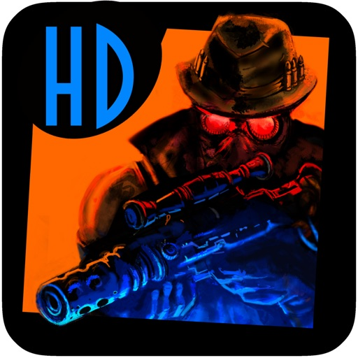 A Steam Punk Action Hero HD