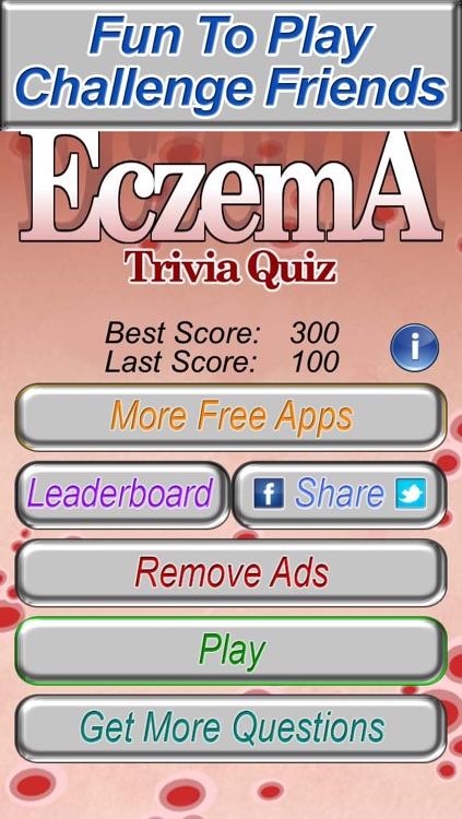 Eczema Trivia Quiz - The Fun Medical Game of Psoriasis Dermatology