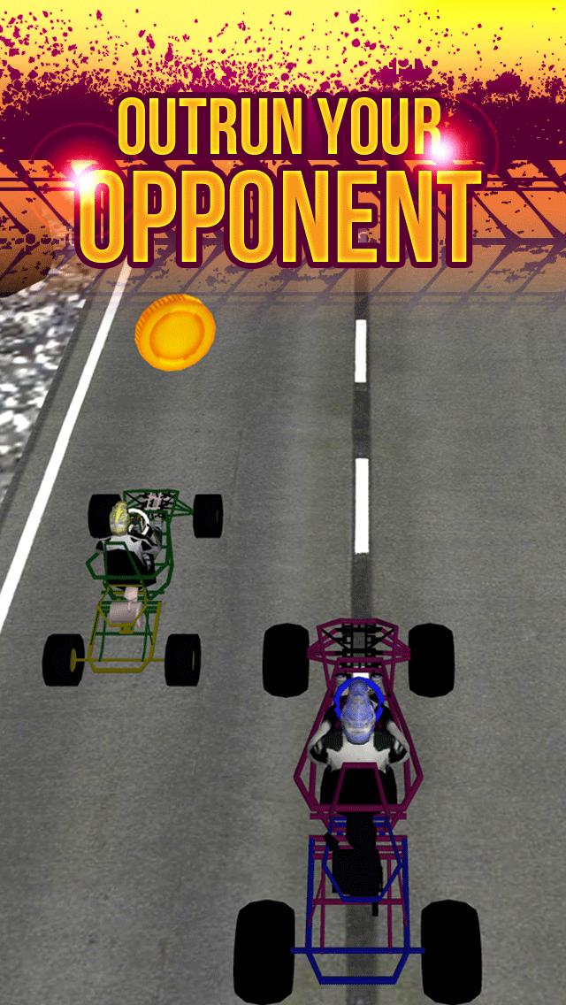 3Dゴーカート·レーシングの狂気によってストリートドライビング無料十代の若者たちのシミュレータゲームをエスケープのおすすめ画像3