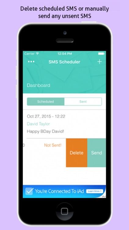SMS Scheduler - SMS Blaster screenshot-3