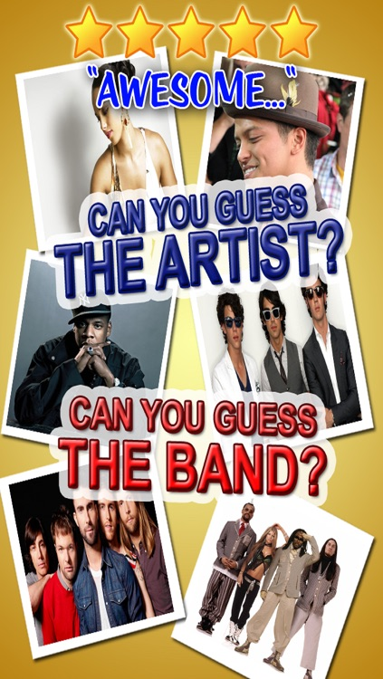 US Pop Music Trivia Quiz