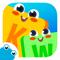App Icon for KidEWords - Kruiswoordpuzzels voor kinderen App in Belgium IOS App Store