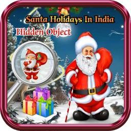 Santa Holidays In India Hidden Object