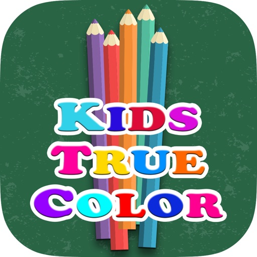 Kids True Color - Correct Names and Color Pencils Matching