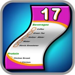 The 17x Days Diet Shopping List