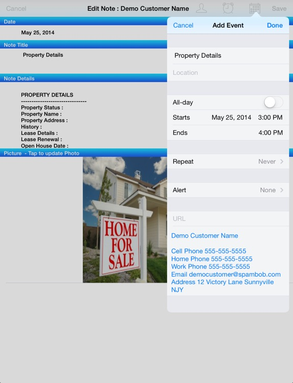 Real Estate Agent - App Toolkit for Mobile Office of Residential and Commercial Property Broker Company screenshot-3