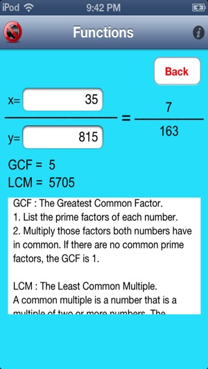 Math is Easy - Prime Factorization and Equation Solver on the App Store