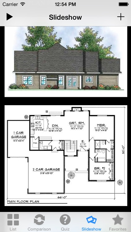 House Plans for iPad