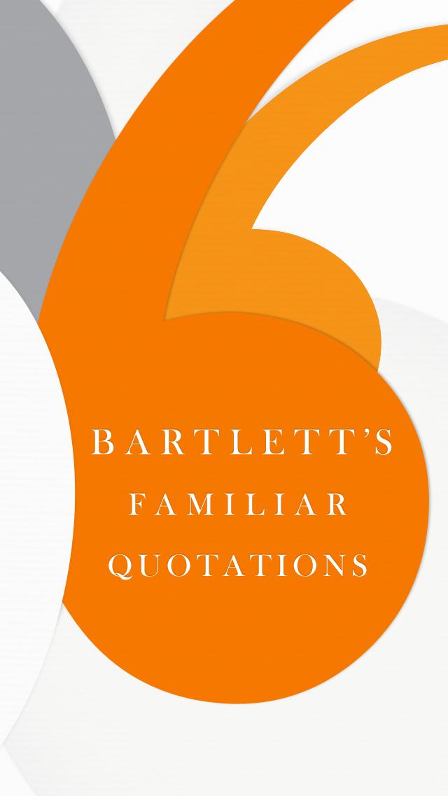Bartlett's Familiar Quotationsのおすすめ画像1
