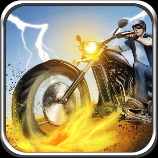 A Bike Race in Route 66 Pro - Escape from the Temple Mad Bikers