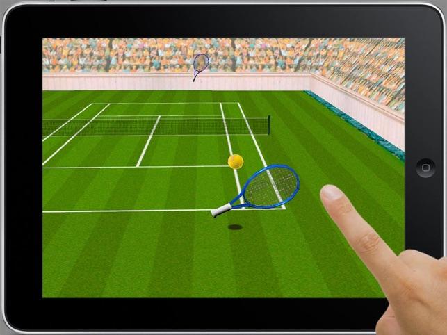 Tennis-Match Screenshot