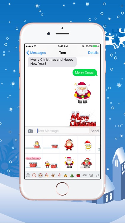 Christmas Gif Keyboard - Fully Animated Emoji for Christmas