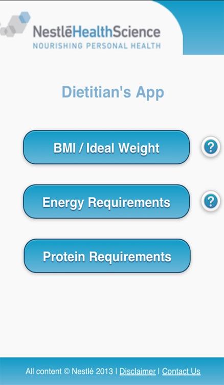 Dietitian's App