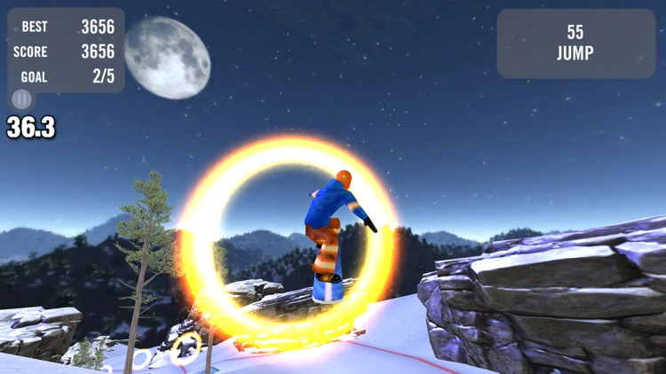 Crazy Snowboard screenshot-4