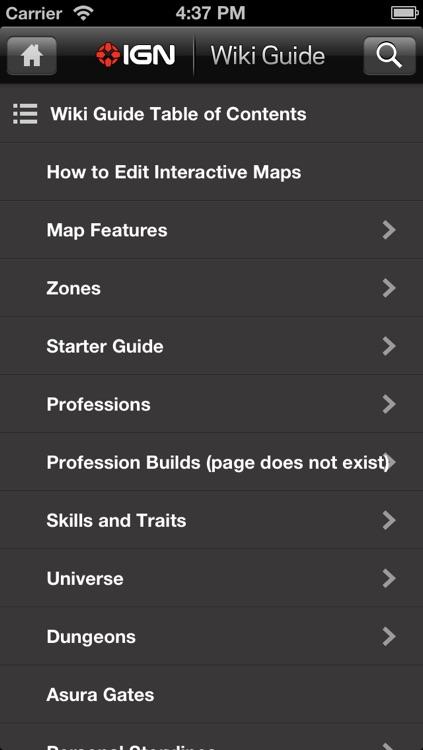 IGN App For GW2 screenshot-3