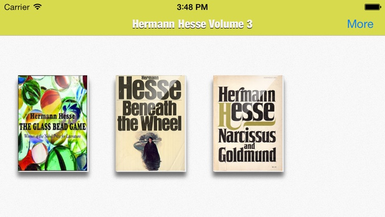 Hermann Hesse Collection Volume 3