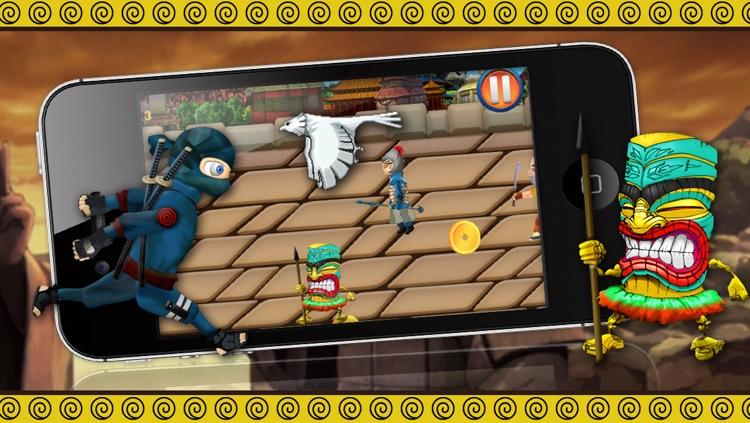 Konoha Temple Adventure - Brave Little Ninja Run