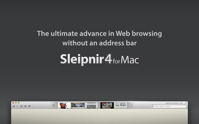Sleipnir Browser Screenshot