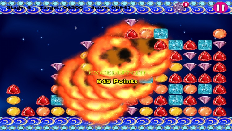 Jewel Crush - Match 3 Mania Blitz screenshot-3
