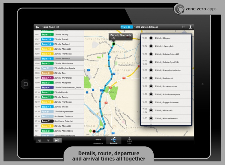 Swiss Transit (for iPad) screenshot-3