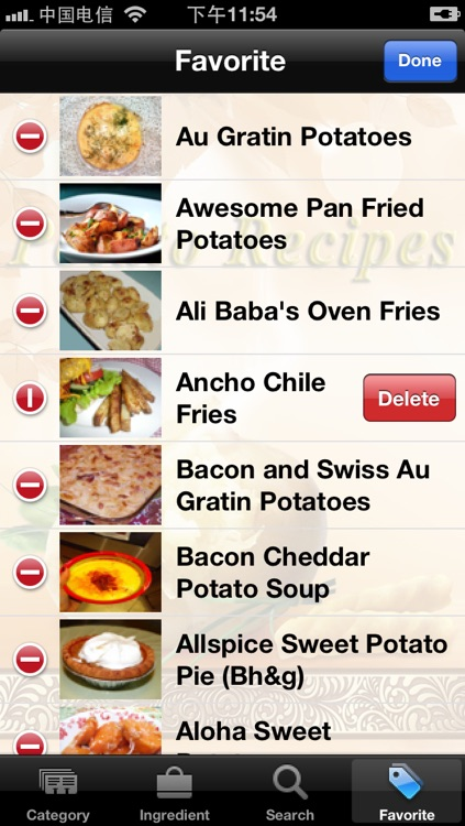 Potato Recipes screenshot-3