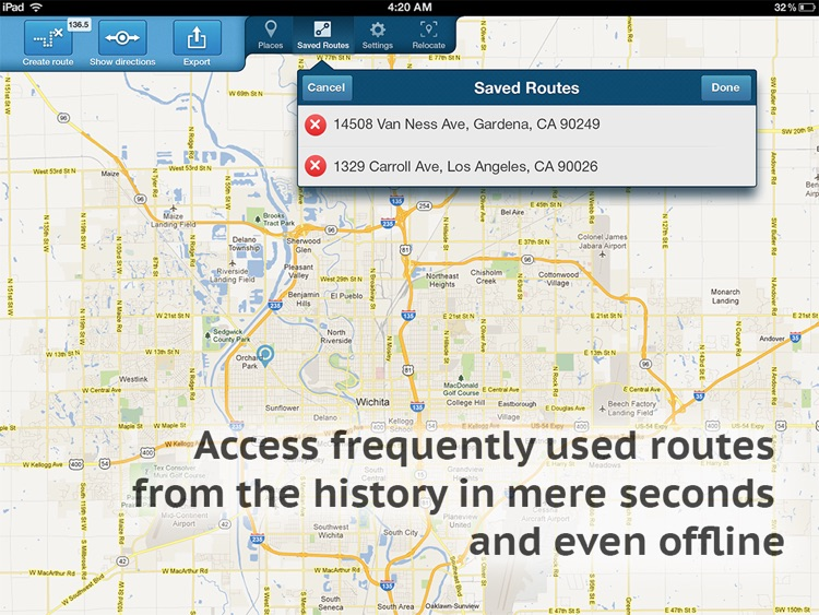 Get Directions HD screenshot-2