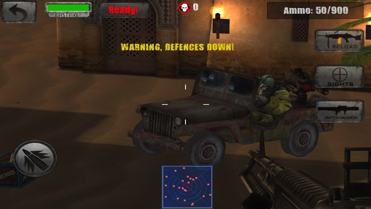 Zombie Jeep Gunner screenshot-4