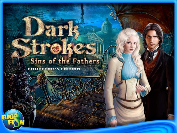 Dark Strokes: Sins of the Fathers Collector's Edition HD screenshot-0