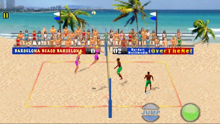 Over The Net Beach Volley Lite
