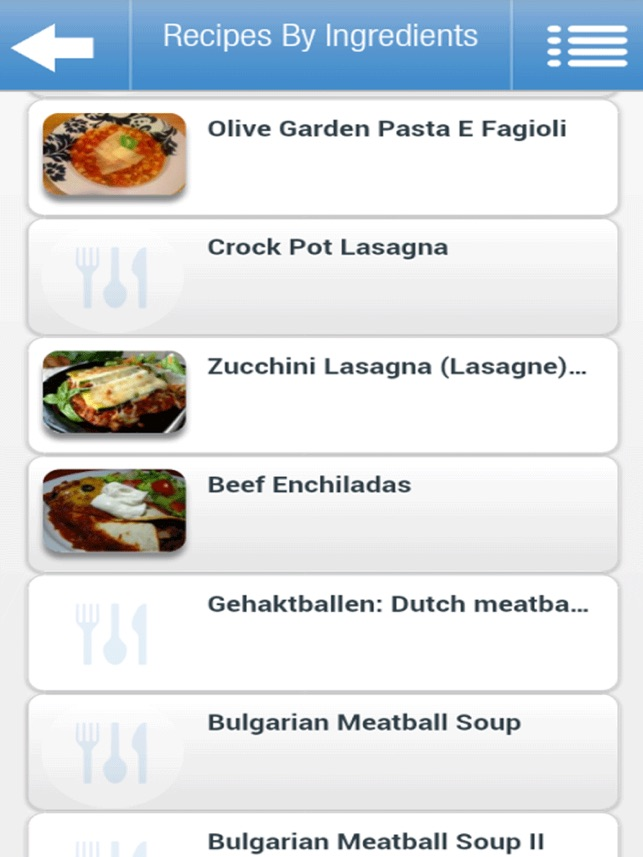 Recipes by ingredients on the app store forumfinder Image collections