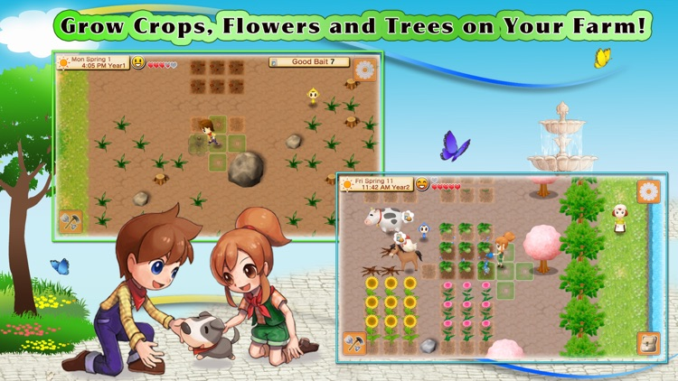 HARVEST MOON: Seeds Of Memories screenshot-0