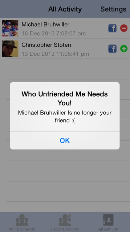 Who Unfriended Me - Facebook Friend Blocker & Deleted Social Media Edition FREE